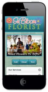Carousel Slider Style Mobile Website